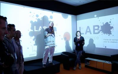 12 juillet 2011 : AttrapTemps lance Le Labo…  Fonds de recherche pour la création et les idées, parrainé par Cali !
