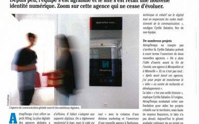 Cyrille Sabatier livre ses ambitions au magazine NDLR