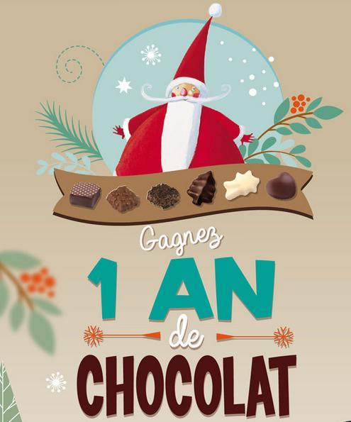 Un an de chocolat à gagner, avec Cémoi !