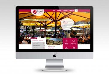 Pleins feux sur le nouveau site web de Banyuls-sur-mer