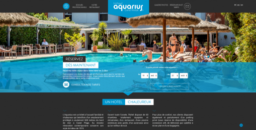 Destination : l'hôtel Aquarius pour un nouveau départ