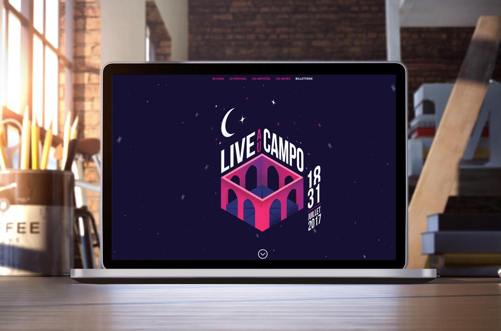 Live au Campo : Naviguez au cœur d'un site